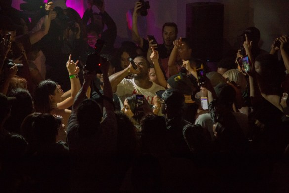 A$AP Ferg at Doperoots & Traplord Present Dopland in L.A. 4/20/17. Photo by @markie818. Used with permission.