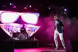 Capital Cities @ Coachella 4/14/16. Photo by Charles Reagan. Courtesy of Coachella. Used with permission.