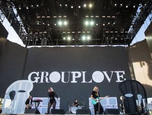 Grouplove @ Coachella 4/16/17. Photo by Erik Voake. Courtesy of Coachella. Used with permission.