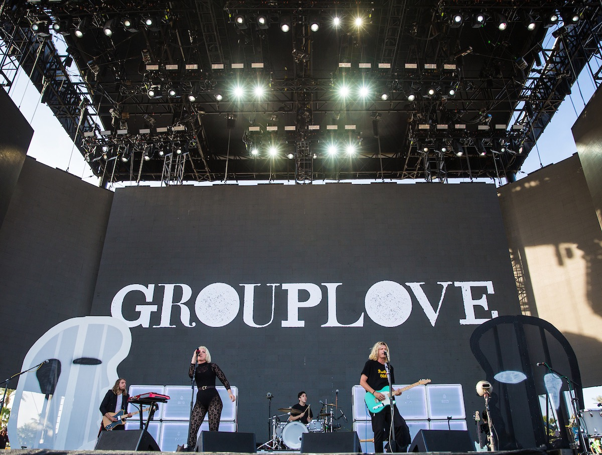 Grouplove @ Coachella 4/16/17. Photo by Erik Voake. Courtesy of Coachella. Used with permission.