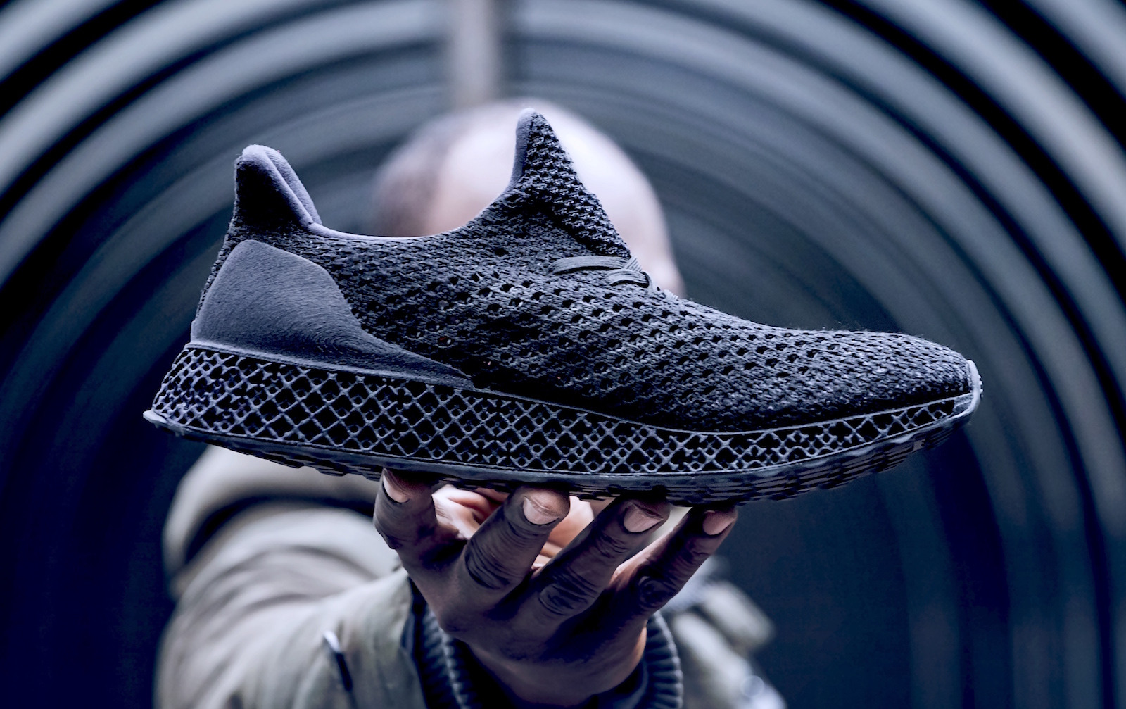 """official photos 9b551 24e6b Adidas worked on the shoes with Carbon, a 3D technology start-up. Carbon  said it used a method called """"Digital Light Synthesis"""" for the shoes."""