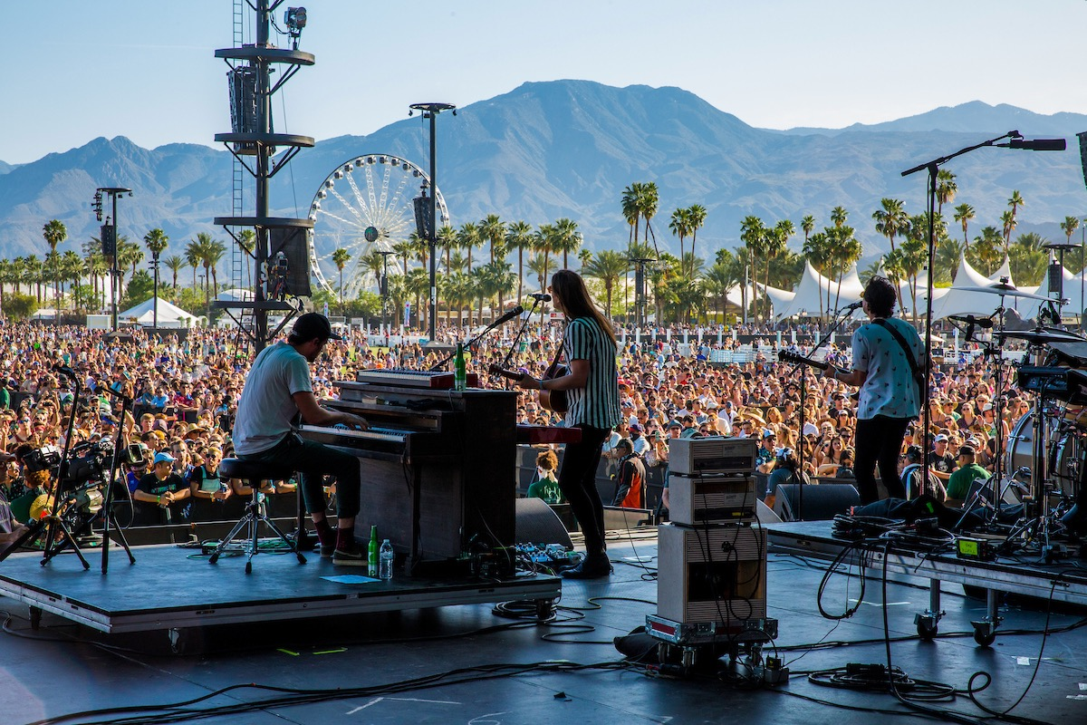 The Head and the Heart @ Coachella 4/15/16. Photo by Erik Voake. Courtesy of Coachella. Used with permission.