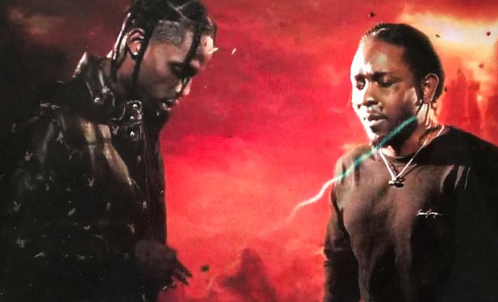 Travis Scott & Kendrick Lamar drop Goosebumps Video