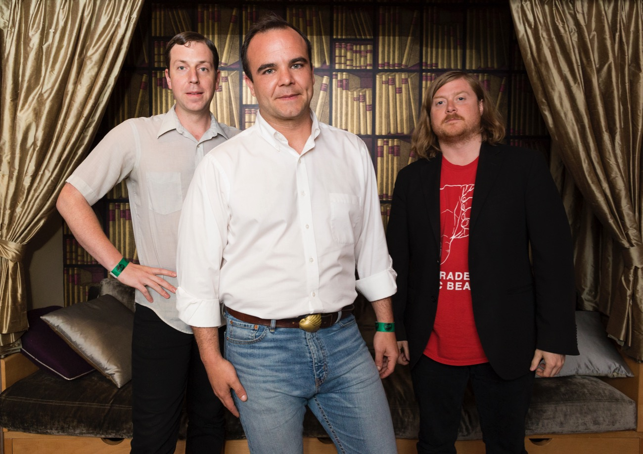 Future Islands @ KCRW'S Apogee Sessions 4/18/17. Photo by Brian Feinzimer. Courtesy of KCRW. Used with permission.