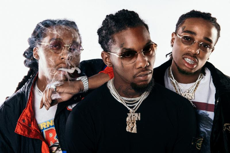 """Watch Migos And Gucci Mane's """"Slippery"""" Video"""