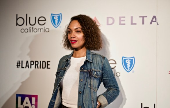Lyndie Greenwood @ L.A. PRIDE 2017 Red Carpet // Atmosphere // Photo by Derrick K. Lee, Esq. (@Methodman13)