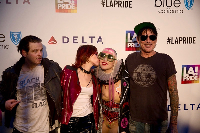 Brooke Candy & Friends @ L.A. PRIDE 2017 Red Carpet // Atmosphere // Photo by Summer Dos Santos (@SummerDosSantos)