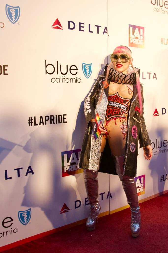 Brooke Candy @ L.A. PRIDE 2017 // Red Carpet // Photo by Simone Jenkins (@simonemeetsworld) for Blurred Culture.