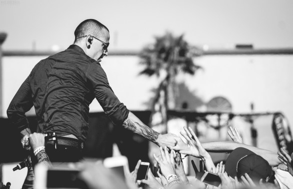 Chester Bennington. Photo by Mike Danenberg (@mikedanenberg). Photo used with permission.