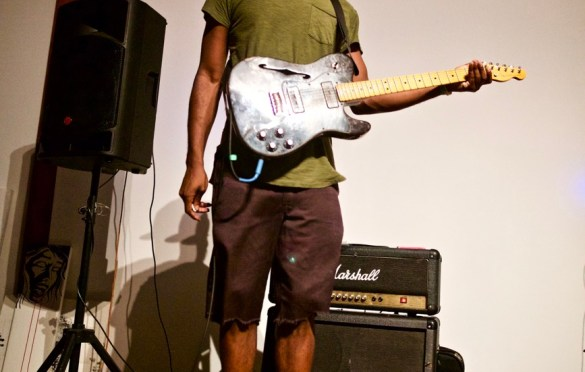 Ramonda Hammer @ Nomad Collective 8/4/17. Photo by Derrick K. Lee, Esq. (@Methodman13) for www.BlurredCulture.com.