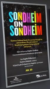 """Sondheim on Sondheim"" @ The Hollywood Bowl 7/23/17."
