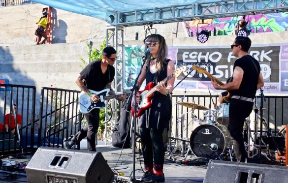 Brass Box at Echo Park Rising (the Lost Lot) 8/19/17. Photo by Derrick K. Lee, Esq. (@Methodman13) for www.BlurredCulture.com.