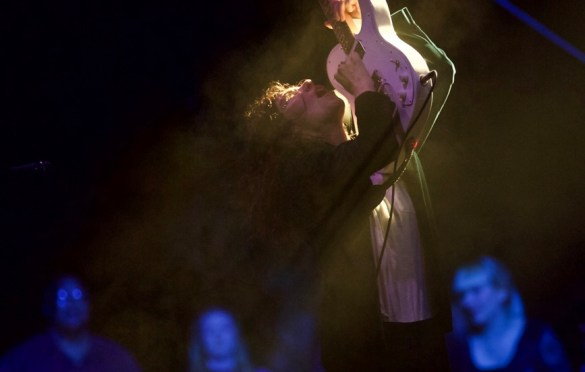 Sleater-Kinney at Music Tastes Good 2017 10/1/17. Photo by Derrick K. Lee, Esq. (@Methodman13) for www.BlurredCulture.com.
