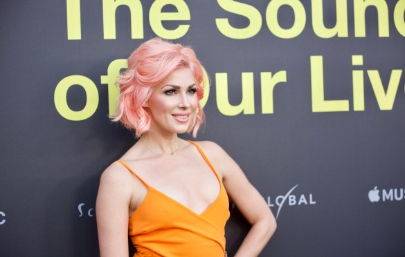 Bonnie McKee on the Red Carpet for