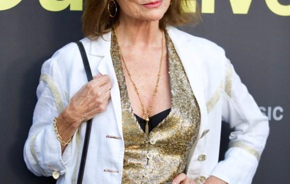 Jacqueline Bisset on the Red Carpet for