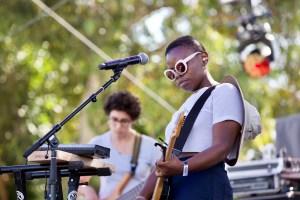 Vagabon at Music Tastes Good 2017 9/30/17. Photo by Derrick K. Lee, Esq. (@Methodman13) for www.BlurredCulture.com.