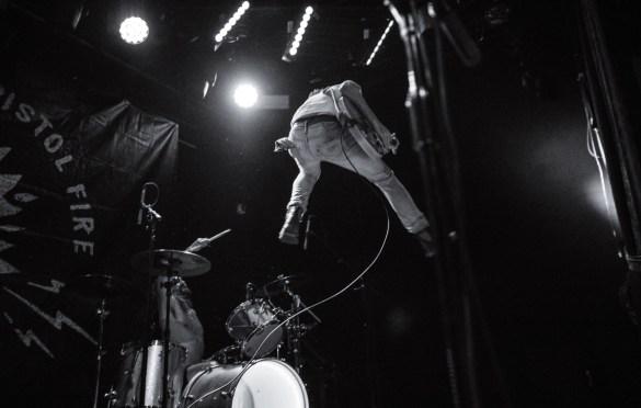 Black Pistol Fire at Bowery Ballroom 10/22/17. Photo by Cortney Armitage (@CortneyArmitage) for www.BlurredCulture.com.