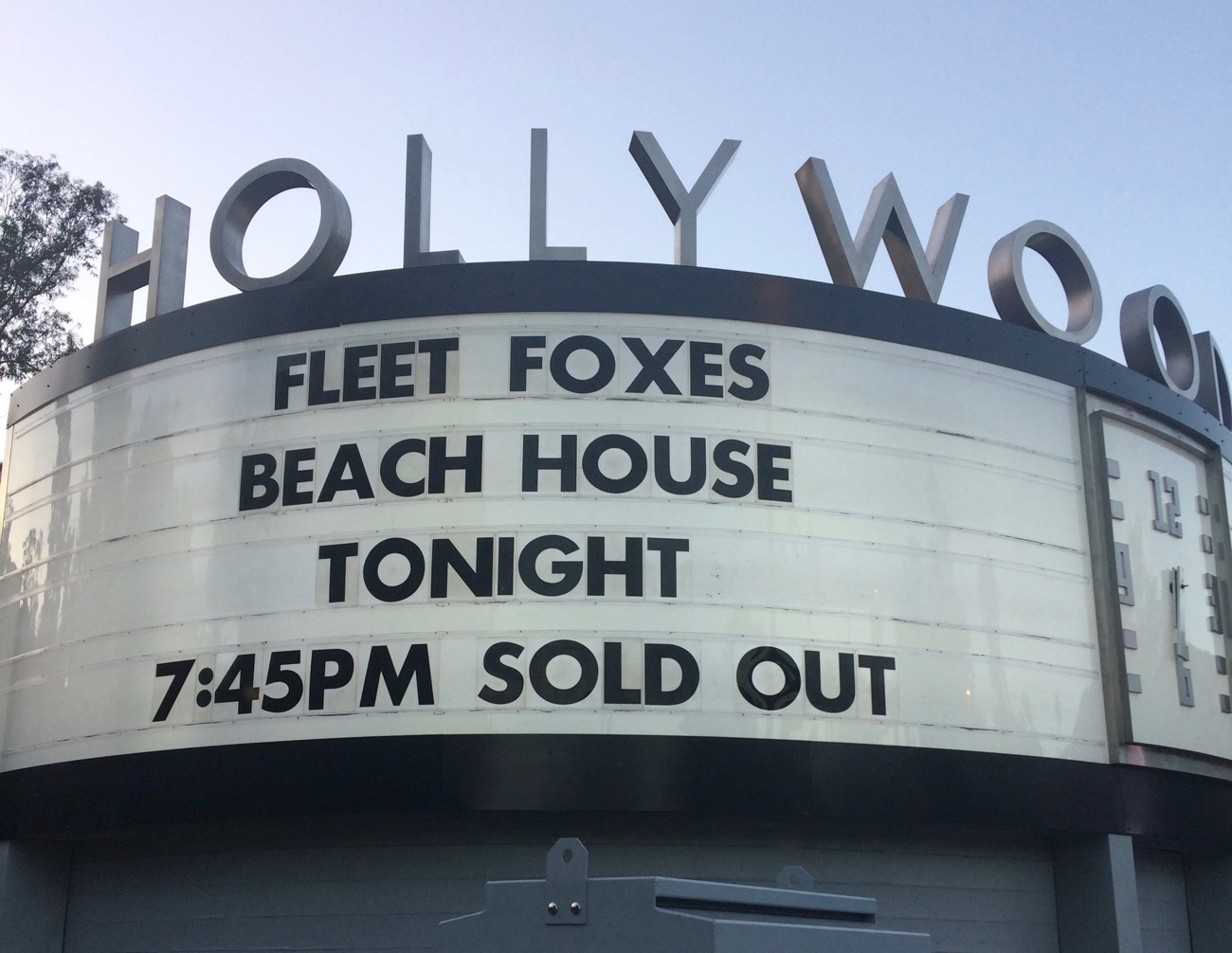 Fleet Foxes & Beach House @ Hollywood Bowl, 9/23/17