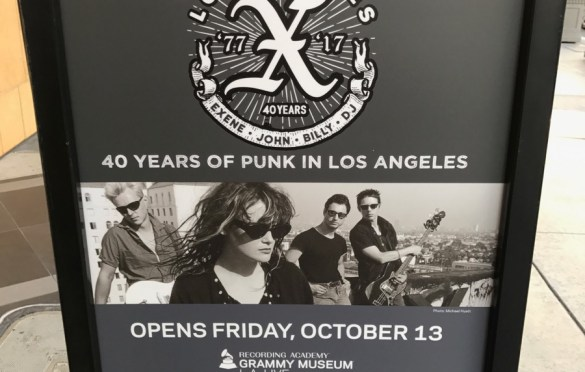 X: 40 Years Of Punk In Los Angeles @ The Grammy Museum. Photo by Nikki Kreuzer (@Lunabeat) for www.BlurredCulture.com.
