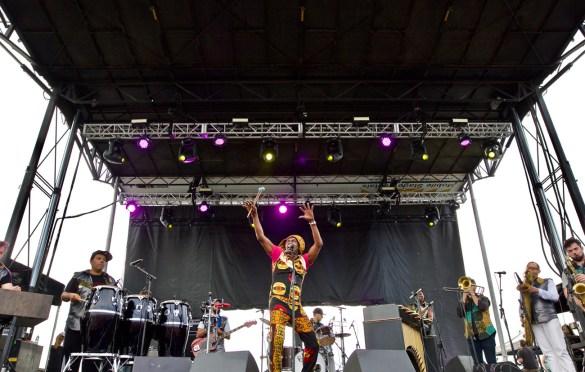 Antibalas at The Growlers Six 10/29/17. Photo by Derrick K. Lee, Esq. (@Methodman13) for www.BlurredCulture.com.