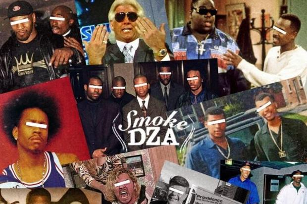 "Smoke DZA and DJ Whoo Kid team up for ""Cuz I Felt Like It Again"" mixtape."