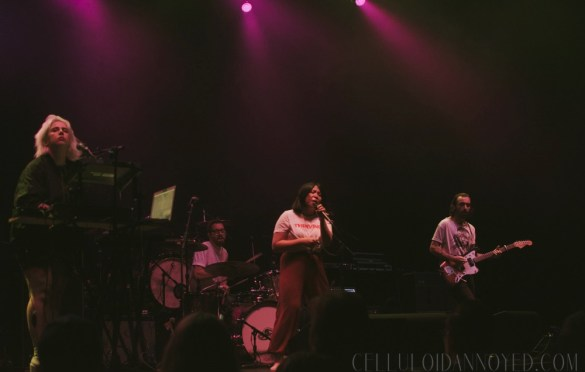 The Belle Game at The Wiltern 11/28/17. Photo by Joe Cortez (@celluloidannoyed) for www.CelluloidAnnoyed.com. Used with permission.