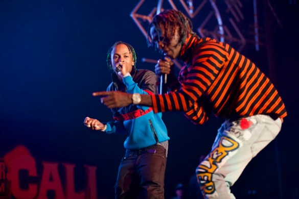 Rich The Kid @ The Forum 12/16/17 for Power 106's Cali Christmas. Photo by Derrick K. Lee, Esq. (@Methodman13) for www.BlurredCulture.com.