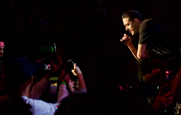 G-Eazy @ The Forum 12/16/17. Photo by Derrick K. Lee, Esq. (@Methodman13) for www.BlurredCulture.com.