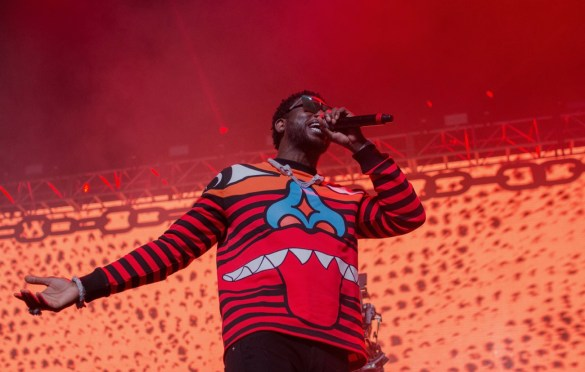 Gucci Mane @ Rolling Loud SoCal 2017. Photo by Markie Escalante (@Markie818) for www.BlurredCulture.com.