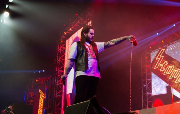 Post Malone @ Rolling Loud SoCal 2017. Photo by Markie Escalante (@Markie818) for www.BlurredCulture.com.