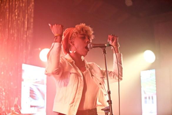 BOSCO for Girlschool @ Bootleg Theatre 2/4/18. Photo by Derrick K. Lee, Esq. (@Methodman13) for www.BlurredCulture.com.