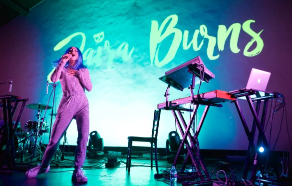 Jaira Burns @ The Masonic Lodge at Hollywood Forever 1/27/18. Photo by Derrick K. Lee, Esq. (@Methodman13) for www.BlurredCulture.com.