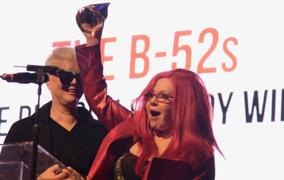 B-52s at the She Rock Awards at the House of Blues, Anaheim 1/26/18. Photo by Sherry Rayn Barnett. Used with permission.