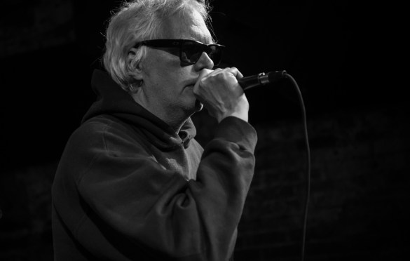 Don Fleming for Alan Vega's Tribute @ Bowery Electric 1/25/18. Photo by Vivian Wang (@Lithophyte) for www.BlurredCulture.com.