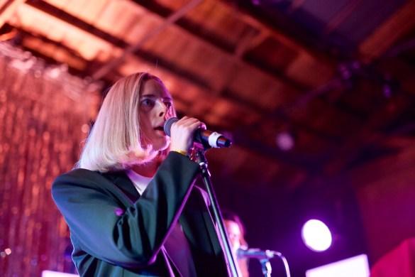 Chelsea Jade for Girlschool @ Bootleg Theatre 2/4/18. Photo by Derrick K. Lee, Esq. (@Methodman13) for www.BlurredCulture.com.