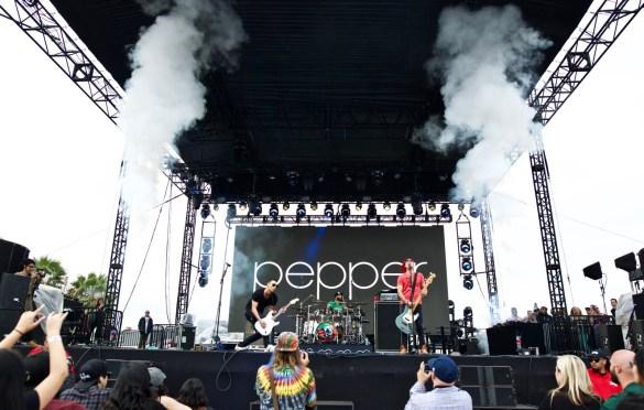 Pepper. One Love Cali Reggae Fast 2018 @ The Queen Mary 2/10/18. Photo by Derrick K. Lee, Esq. (@Methodman13) for www.BlurredCulture.com.