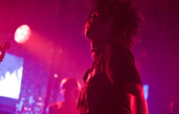 FAARROW for Girlschool @ Bootleg Theatre 2/3/18. Photo by Derrick K. Lee, Esq. (@Methodman13) for www.BlurredCulture.com.