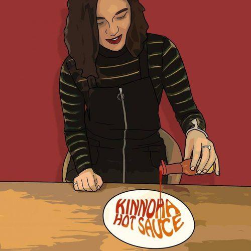 hot sauce, kinnoha