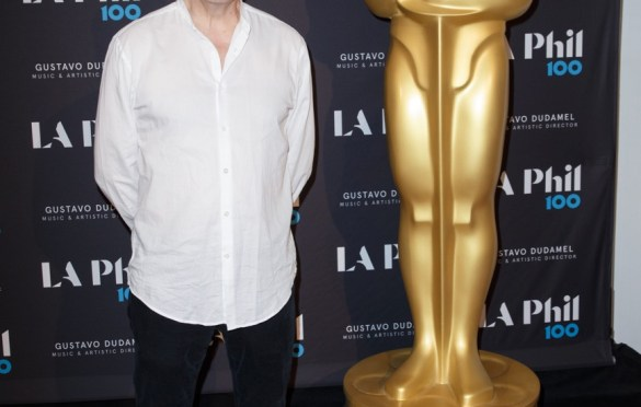 """Oscar®-nominated composer Carter Burwell prior to """"The Oscar Concert"""" presented by the Academy of Motion Picture Arts and Sciences on Thursday, February 28, at the Walt Disney Concert Hall in Los Angeles. The Oscars® will be presented on Sunday, March 4, 2018, at the Dolby Theatre® in Hollywood, CA and televised live by the ABC Television Network. Photo by Paul Heber/ (C) A.M.P.A.S. Used with permission."""