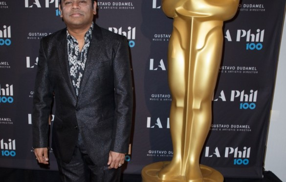 """Composer A.R. Rahman prior to """"The Oscar Concert"""" presented by the Academy of Motion Picture Arts and Sciences on Thursday, February 28, at the Walt Disney Concert Hall in Los Angeles. The Oscars® will be presented on Sunday, March 4, 2018, at the Dolby Theatre® in Hollywood, CA and televised live by the ABC Television Network. Photo by Paul Hebert/ (C) A.M.P.A.S. Used with permission."""