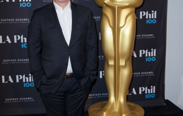 """Oscar®-nominated composer Hans Zimmer prior to """"The Oscar Concert"""" presented by the Academy of Motion Picture Arts and Sciences on Thursday, February 28, at the Walt Disney Concert Hall in Los Angeles. The Oscars will be presented on Sunday, March 4, 2018, at the Dolby Theatre® in Hollywood, CA and televised live by the ABC Television Network. Photo by Paul Hebert/ (C) A.M.P.A.S. Used with permission."""