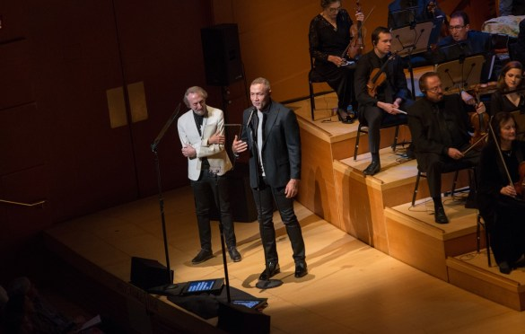 "Academy Governor Charles Bernstein and composer Michael Abels during ""The Oscar Concert"" presented by the Academy of Motion Picture Arts and Sciences on Thursday, February 28, at the Walt Disney Concert Hall in Los Angeles. The Oscars® will be presented on Sunday, March 4, 2018, at the Dolby Theatre® in Hollywood, CA and televised live by the ABC Television Network. Photo by Paul Hebert/ (C) A.M.P.A.S. Used with permission."