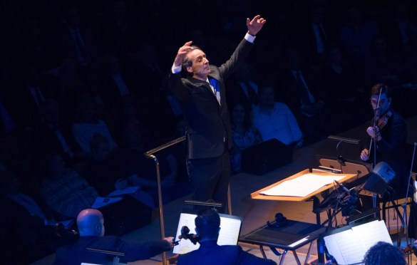 """Oscar®-nominated composer Alexandre Desplat during """"The Oscar Concert"""" presented by the Academy of Motion Picture Arts and Sciences on Thursday, February 28, at the Walt Disney Concert Hall in Los Angeles. The Oscars® will be presented on Sunday, March 4, 2018, at the Dolby Theatre® in Hollywood, CA and televised live by the ABC Television Network. Photo by Paul Hebert/ (C) A.M.P.A.S. Used with permission."""