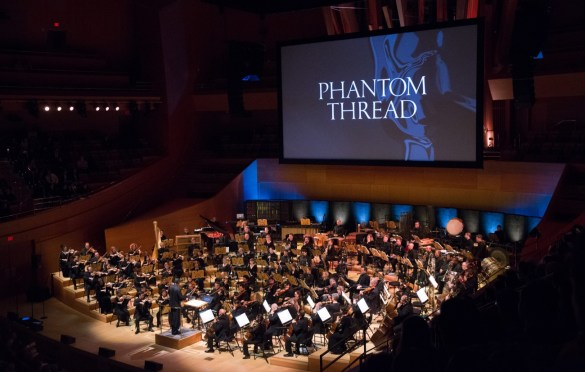 """Conductor Thomas Wilkins during """"The Oscar Concert"""" presented by the Academy of Motion Picture Arts and Sciences on Thursday, February 28, at the Walt Disney Concert Hall in Los Angeles. The Oscars® will be presented on Sunday, March 4, 2018, at the Dolby Theatre® in Hollywood, CA and televised live by the ABC Television Network. Photo by Paul Hebert/ (C) A.M.P.A.S. Used with permission."""