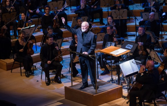 """Oscar®-nominated composer John Williams during """"The Oscar Concert"""" presented by the Academy of Motion Picture Arts and Sciences on Thursday, February 28, at the Walt Disney Concert Hall in Los Angeles. The Oscars® will be presented on Sunday, March 4, 2018, at the Dolby Theatre® in Hollywood, CA and televised live by the ABC Television Network. Photo by Paul Hebert/ (C) A.M.P.A.S. Used with permission."""