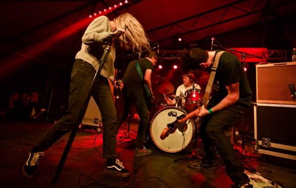 Bully @ Mohawk Austin for SXSW 3/12/18. Photo by Derrick K. Lee, Esq. (@Methodman13) for www.BlurredCulture.com.