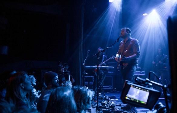 Frightened Rabbit @ Bowery Ballroom 2/23/18. Photo by Vivian Wang (@Lithophyte) for www.BlurredCulture.com.