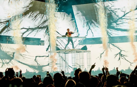 Zedd @ Air + Style 3/3/18. Photo courtesy of Air + Style. Used with permission.