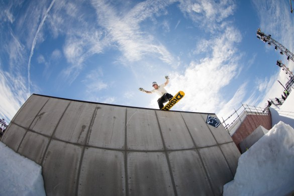 Snowboarding Tricks @ Air + Style 2018. Photo courtesy of Air + Style. Used with permission.