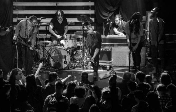 Welshly Arms @ Bowery Ballroom 3/3/18. Photo by Vivian Wang (@Lithophyte) for www.BlurredCulture.com.